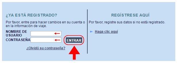 Abrir mi cuenta en Registro de Viajeros - 652