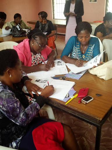 Working with teachers at the University of Nigeria Nsukka