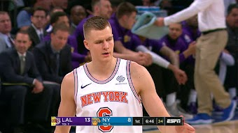 L.A. Lakers at New York from 12/12/2017