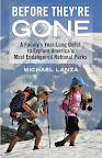 The book cover for Before They're Gone: A Family's Year-Long Quest to Explore America's Most Endangered National Parks. http://www.beacon.org/productdetails.cfm?SKU=0119