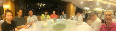 2015年9月14日與梁宗岳在星光行翠園餐聚
