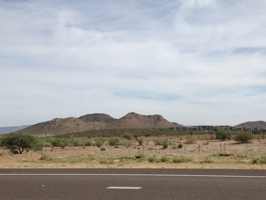 on the road to flagstaff