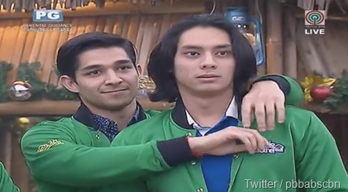 Wil Dasovich and Luis Hontiveros