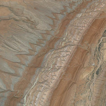 Canyonlands of southeastern Utah (views from Google Earth)