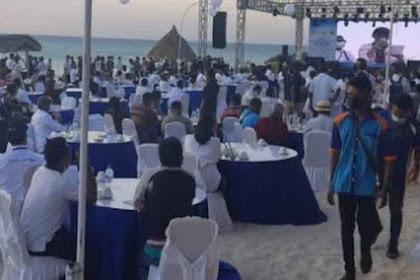Victor Laiskodat Gubernur NTT Diduga Langgar Prokes Pesta di Pulau Semau