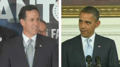 Santorum Forum: Part 12: Rick takes on Barack