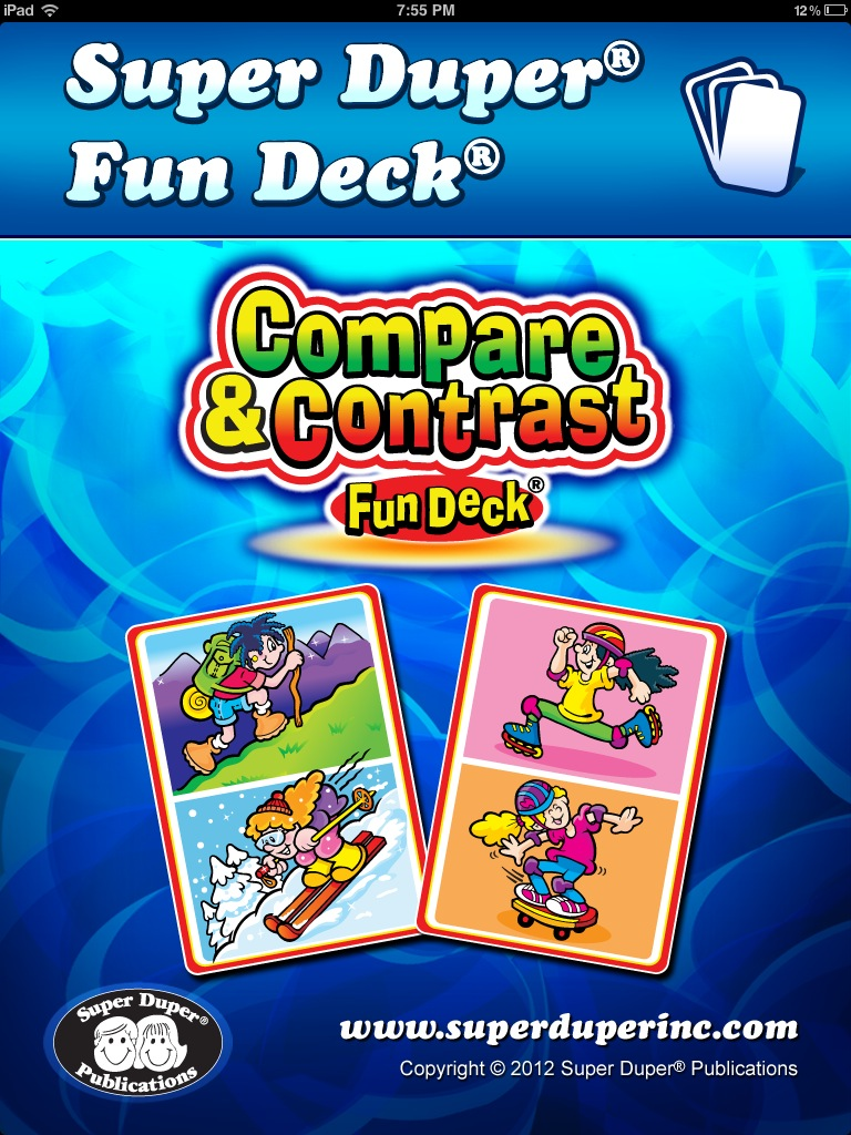 Compare & Contrast Fun Deck Main Page