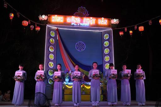 Ban Trị sự GHPGVN huyện Phù Mỹ chức tuần lễ Đại Lễ Phật Đản PL. 2560