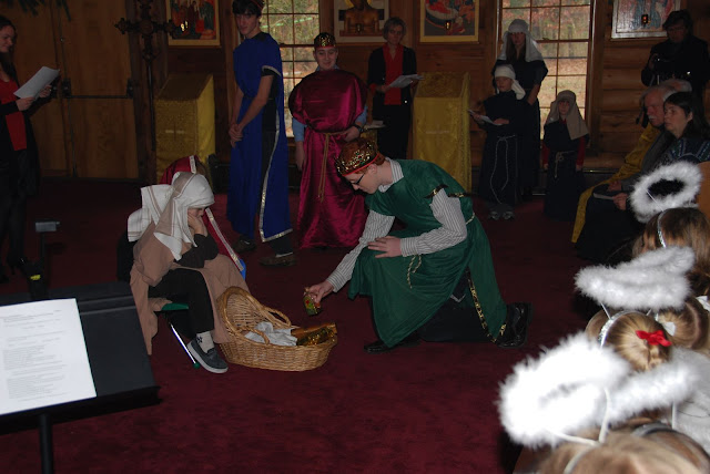 On the Sunday before the Nativity, the Church School annual Play presents the story of the Christ's birth.