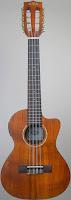 Kala Acacia Electro-Acoustic Taropatch Tenor