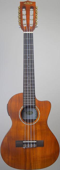 Kala Acacia Electro-Acoustic 8 string Taropatch Tenor Ukulele