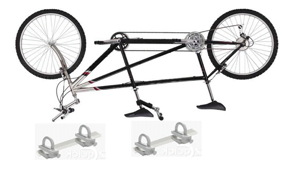 tandem bicycle carrier new roof rack hitch bike mount ez