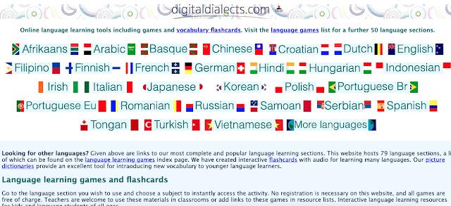 Jogos grátis para aprender 70 idiomas