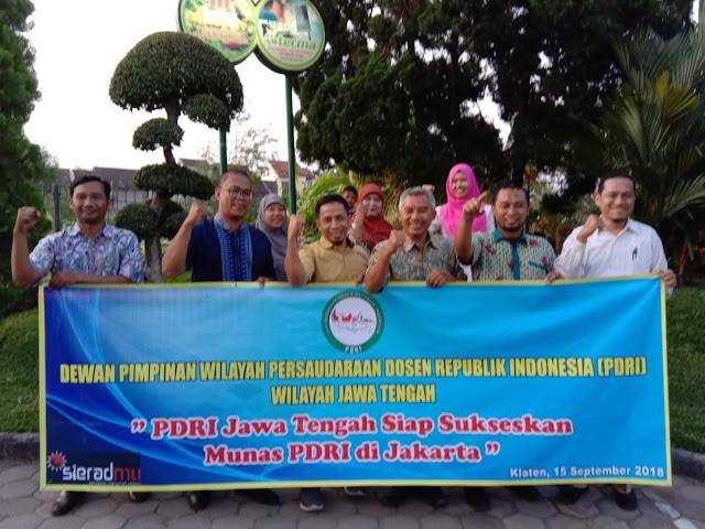 DPW PDRI Jawa Tengah Siap Sukseskan Munas Jakarta