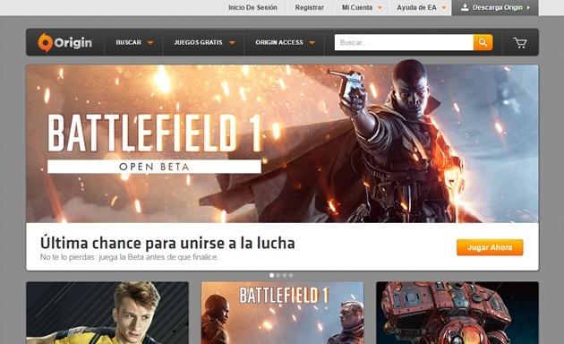 Abrir mi cuenta Electronic Arts
