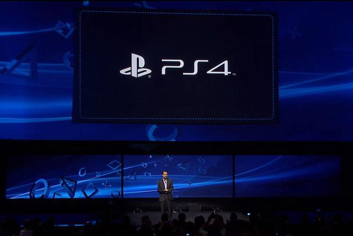 Sony unveils the PlayStation 4 PS4    PlayStation 4    PS4   Logo