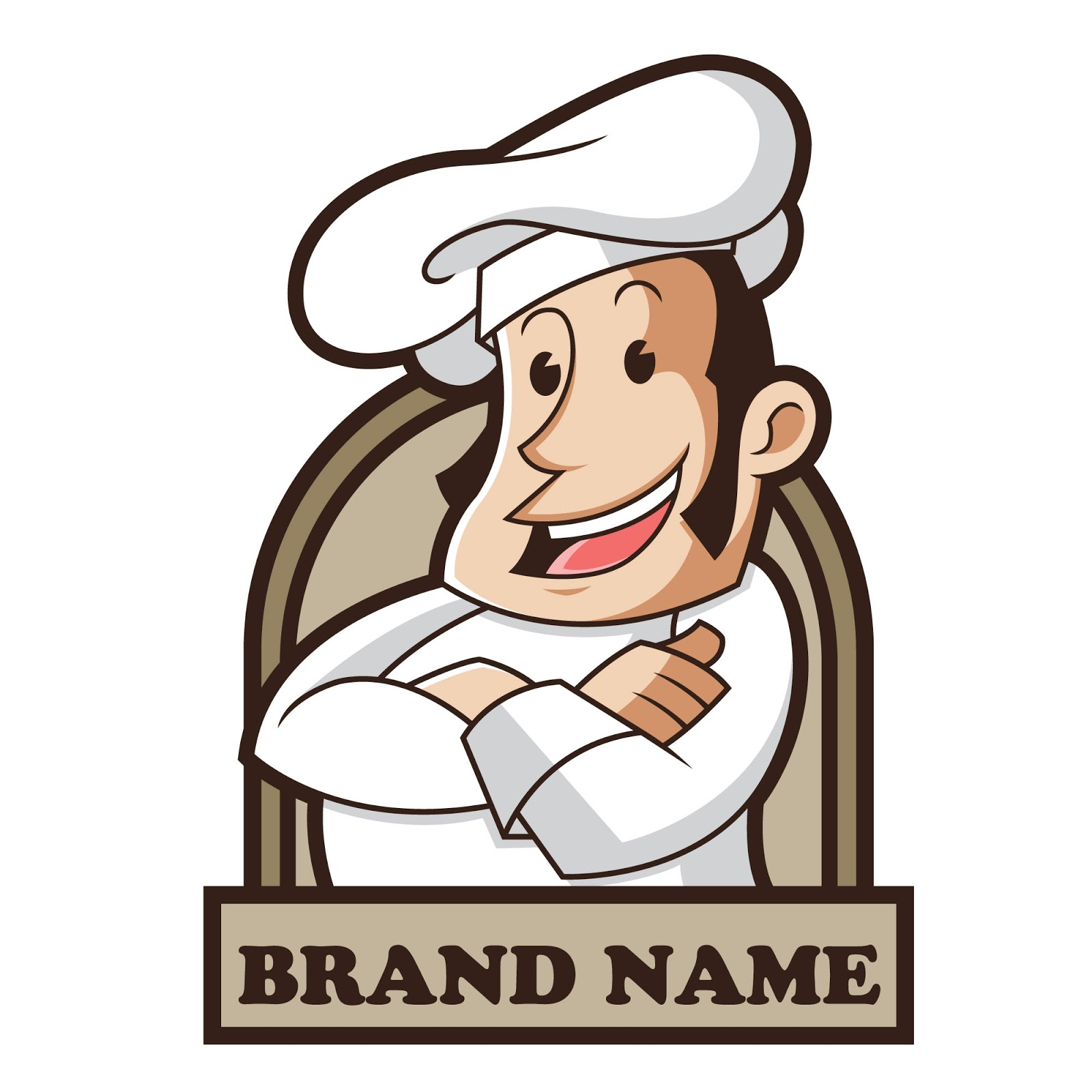 Chef Mascot Free Download Vector CDR, AI, EPS and PNG Formats