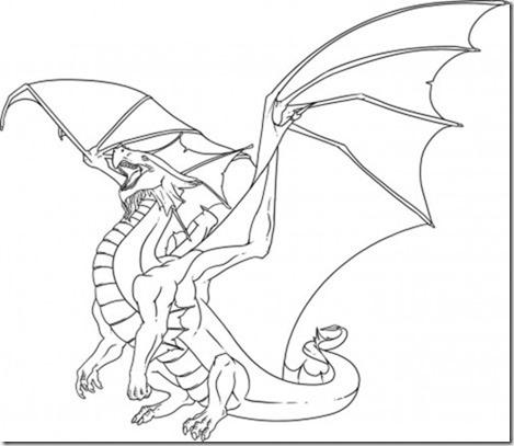 Dragon De Fuego Para Dibujar | www.imagenesmy.com