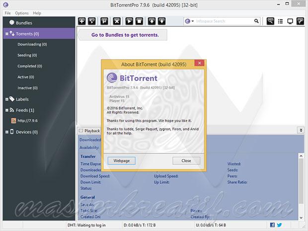 BitTorrent Pro 7.9.6