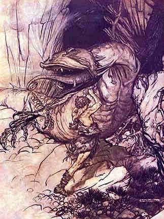 Fafner Bane, Asatru Gods And Heroes