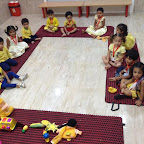 Yellow Day Celebrated by Playgroup at Witty World (2015-16)