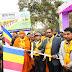 बौद्ध महोत्सवः  ज्ञान यात्रा में हरी झंडी दिखाकर जिला अधिकारी सह बिटीएमसी अध्यक्ष ने रवाना किया ज्ञान यात्रा सह पदयात्रा ढुगेश्वरी से लेकर महाबोधि मंदिर तक हुआ