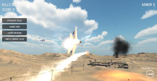 Desert Frontline Airstrike