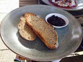 The Attic, Fremantle, WA - Toasted sourdough w preserve