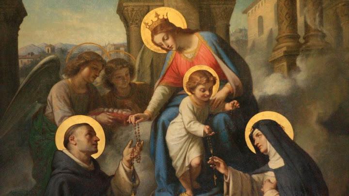 Đức Chúa ở cùng Bà (07.10.2021 – Thứ Năm Tuần 27 TN - Lễ Đức Mẹ Mân Côi)
