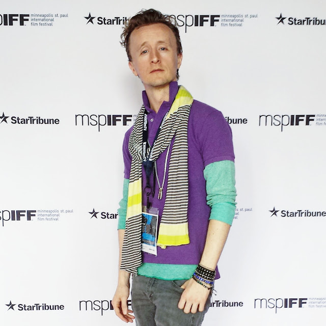 Minneapolis Actor Paul Cram at MSPIFF Festival