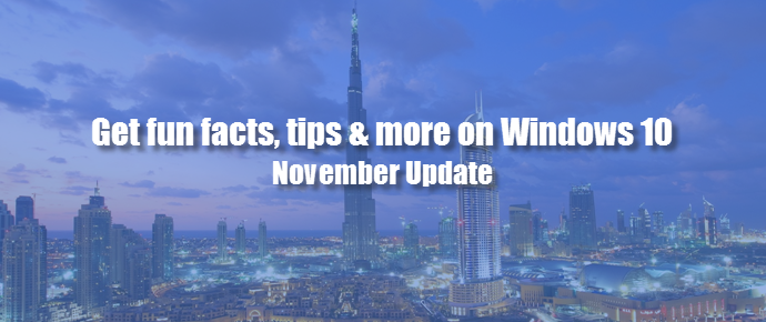 #Windows 10 November Update: Get fun facts, tips & more on Lock Screen (www.kunal-chowdhury.com)