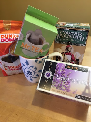 tea mug and assorted coffee & tea from Julie's Creative Lifestyle