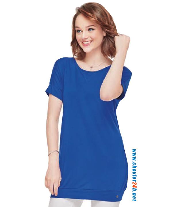 Áo thun thời trang Sophie Hydeia Blue