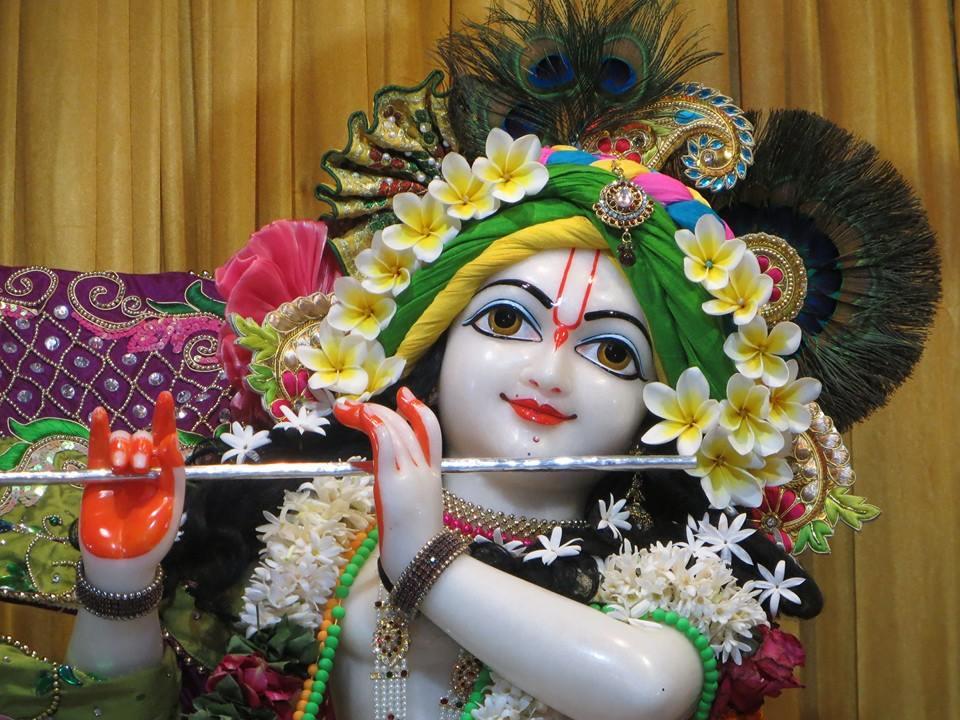 ISKCON Aravade Deity Darshan 07 Mar 2016 (1)