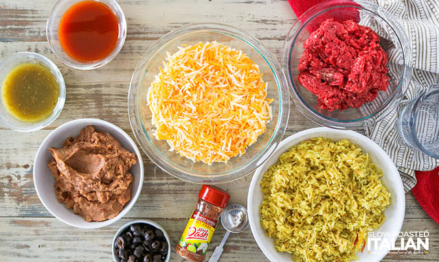 7 layer bean dip ingredients