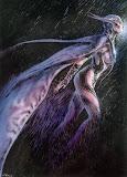 Bat Girl Futuristic Luis Royo