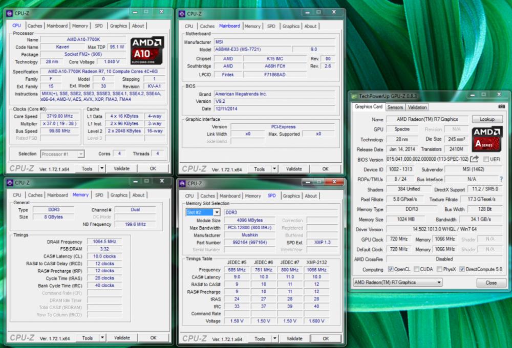Mainboard MSI A68HM-E33, thay thế và tiên tiến hơn chipset AMD A58 - 75412