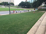 At the grassy knoll