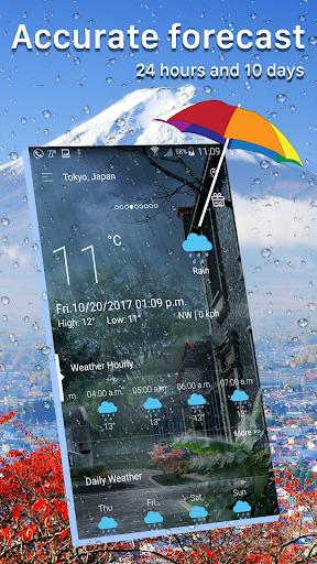 Weather forecast app for PC