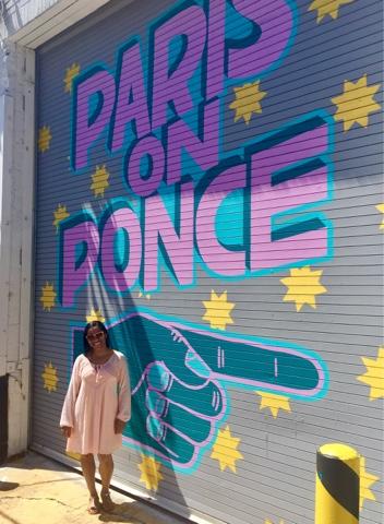 30th birthday girl black girl magic top atlanta mom mommy blogger motherhood paris on ponce