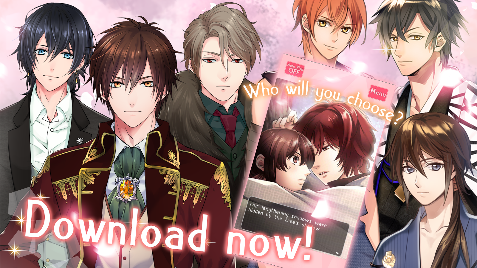 Otome Romance Novels- screenshot