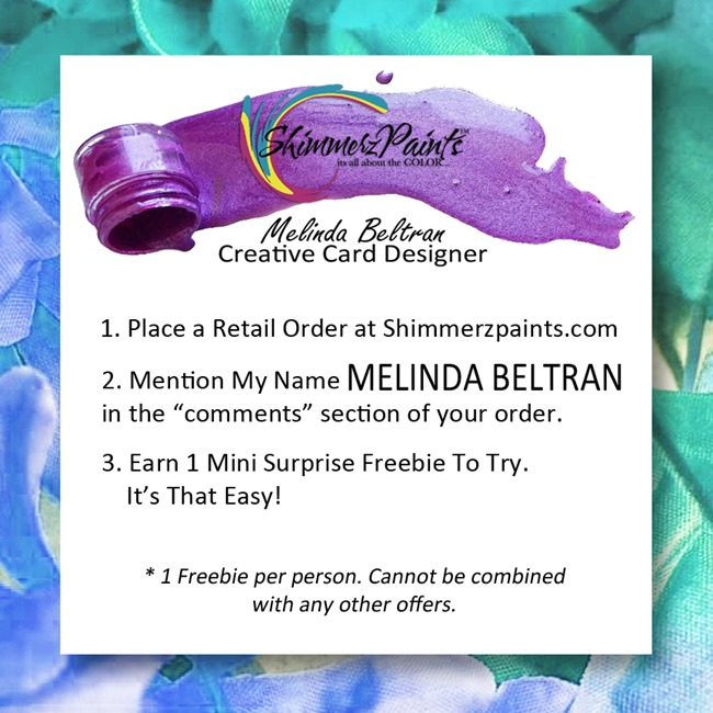 Melinda Beltran - Shimmerz FREE PRODUCT PROMO