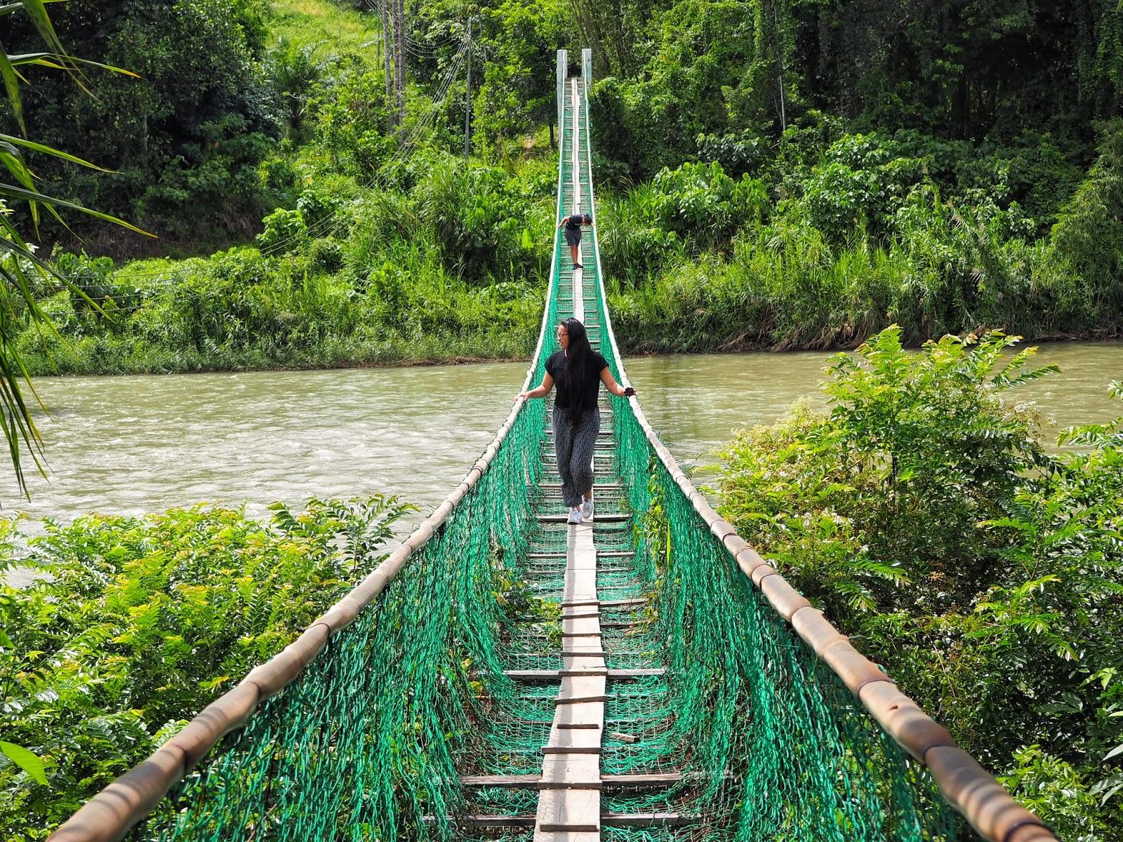 water bridge sandakan malayisa borneo sabah
