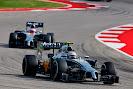 Kevin Magnussen leads Jenson Button, McLaren MP4-29