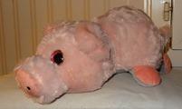 758b 03-peluche flip-flap éléphant-cochon 45 cm