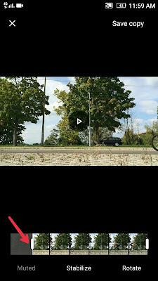 Cara edit Video dengan Google Foto
