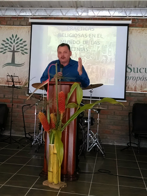 """""""We need to be well informed in animistic concepts so that we can heve an effective ministry among them"""". National Director of Indigenous Minsitries of Mexico, Cruz Velazquez"""