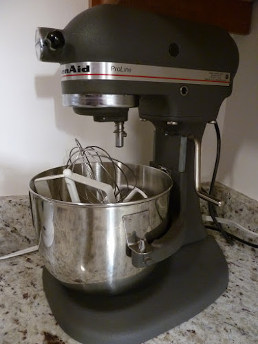 Dismantling Kitchen Aid Mixer
