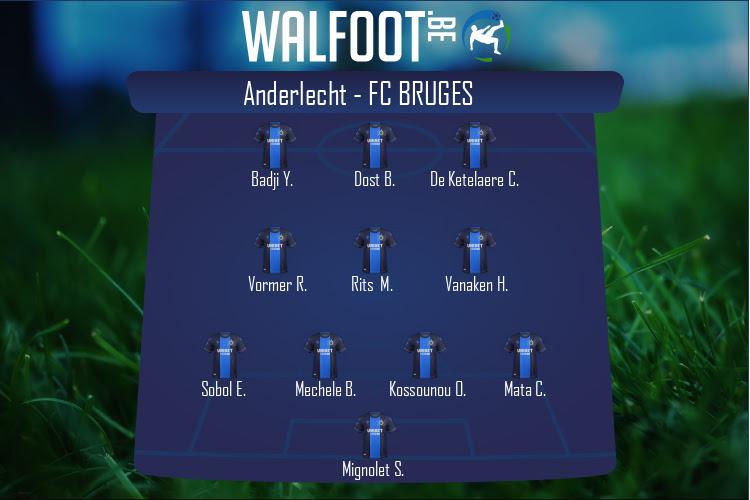 FC Bruges (Anderlecht - FC Bruges)