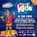 É hoje a vez das crianças brincarem o Carnaval...